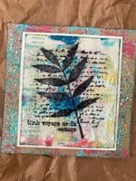 PaperArtsy Eclectica E³ Mounted Rubber Stamp Set - Sara Naumann 50 - ESN50 SPECIAL ORDER